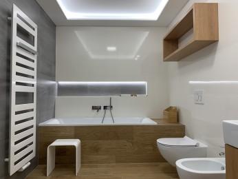 Návrh a realizace podkrovní ložnice s koupelnou